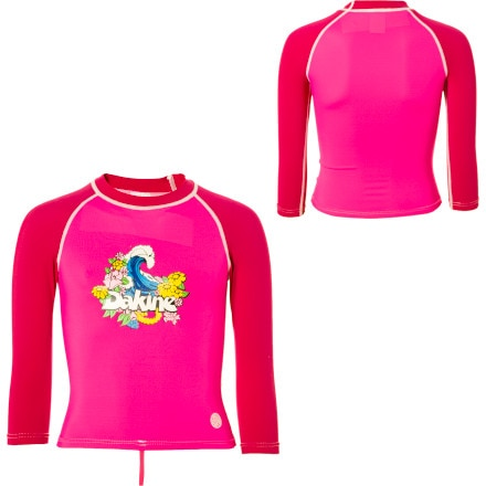 DAKINE Wave Rashguard - 3/4 Sleeve - Toddler Girls'