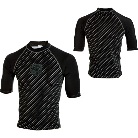 photo: DaKine Striped Rashguard  Short-Sleeve short sleeve rashguard