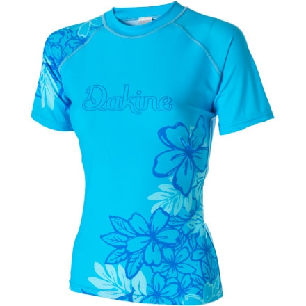 photo: DaKine Paradise Floral S/S short sleeve rashguard