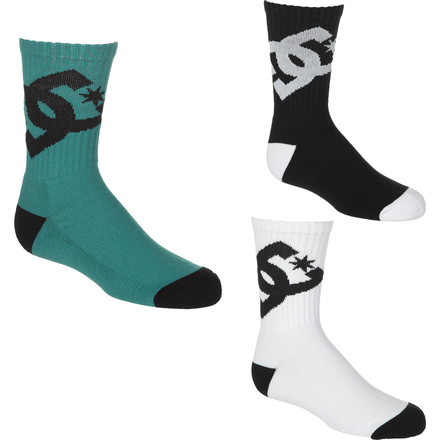 DC Lifted Sock - 3-Pack - Little Boys'