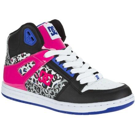 DC Rebound Hi Skate Shoe - Women's