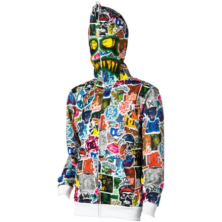 DC Whackypack Hooded Sweatshirt - Boys'