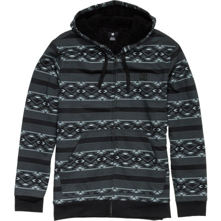 DC T-Star Shearling Print Full-Zip Hoodie - Men's
