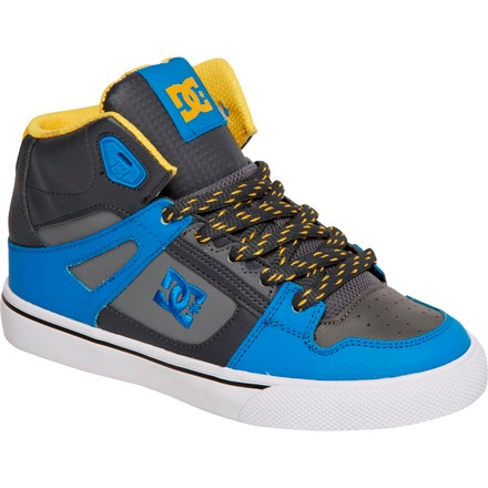 DC Spartan High Skate Shoe - Boys'