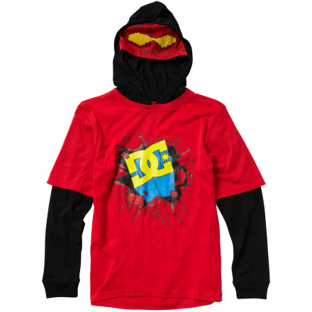 DC Super DC 2Fer Short - Long-Sleeve - Boys'