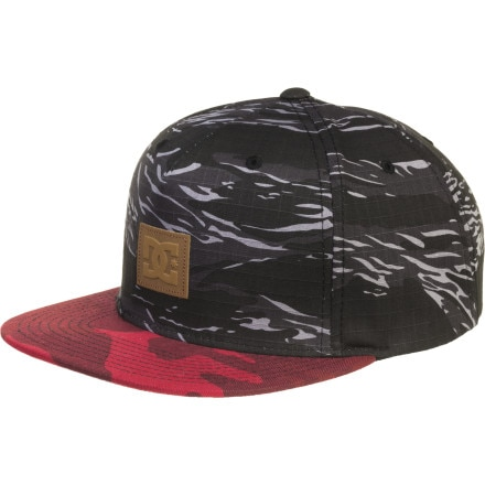 DC Recessed Snapback Hat