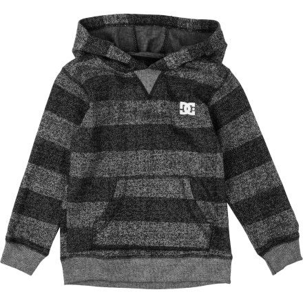 DC Rebel Stripe Pullover Sweatshirt - Toddler Boys'