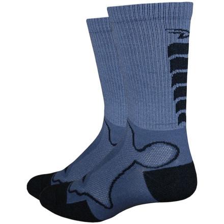 DeFeet Levitator Trail 6in Socks