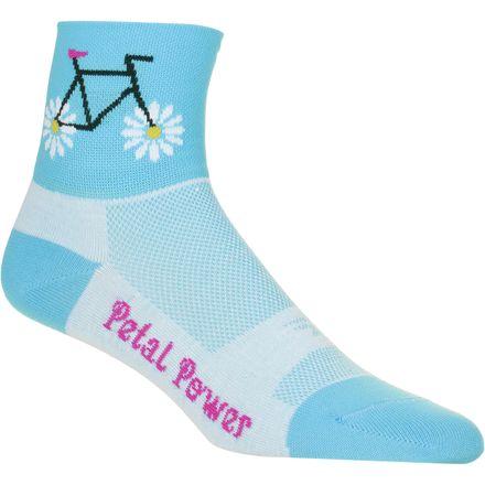 DeFeet Petal Power Sock