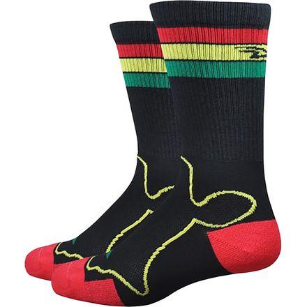DeFeet Levitator Trail Irie 6in Sock