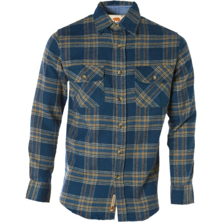 Dakota Grizzly Logger Flannel Shirt - Long-Sleeve - Men's