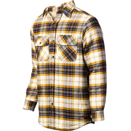 Buy flannel shirts - Dakota Grizzly Mack Flannel Shirt - Long-Sleeve - Men\'s Cocoa, XXL