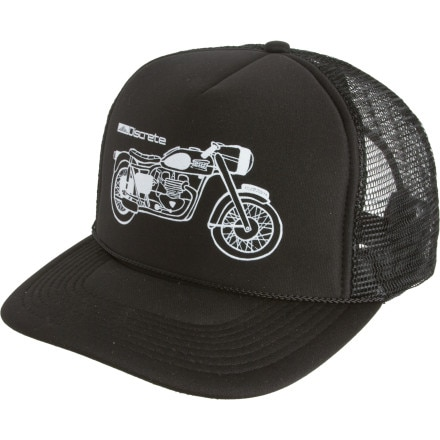 Shop for Discrete Moto Trucker Hat