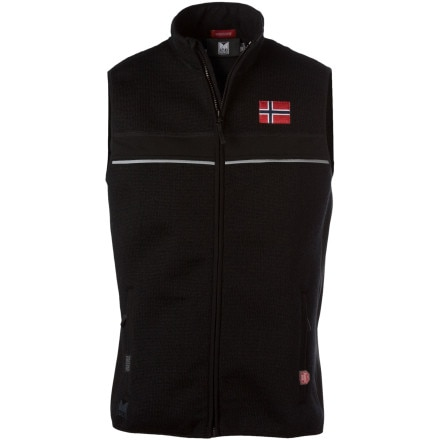 photo: Dale of Norway Roaldshorn Vest wind shell vest
