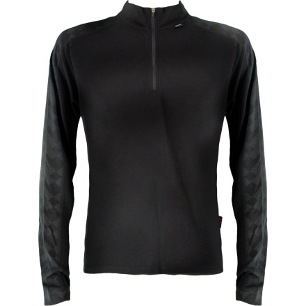 photo: Dale of Norway Long Sleeve Top with Zip Neck base layer top