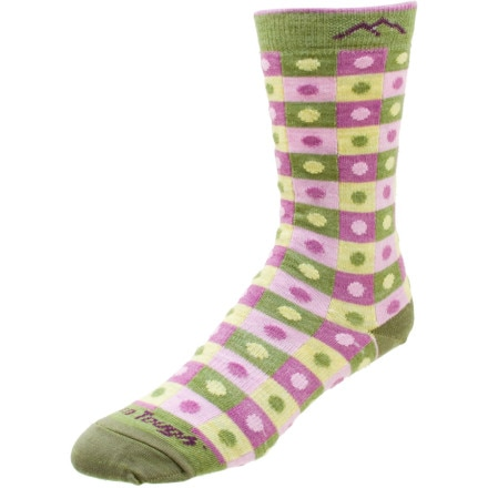 Darn Tough Merino Wool Dots and Squares Light Sock - Women's