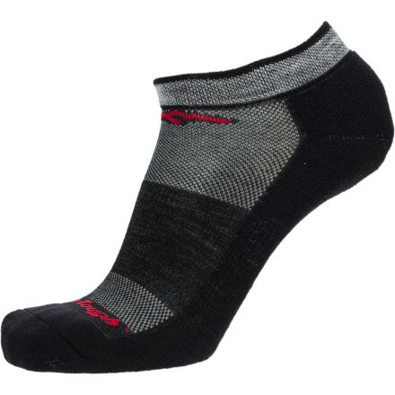 Darn Tough Merino Wool No-Show Cushion Running Sock - Men's