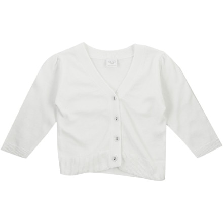 Egg Puff Sleeve Cardigan - Infant Girls'