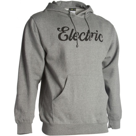 Electric Cursive Pullover Hoodie - Men's