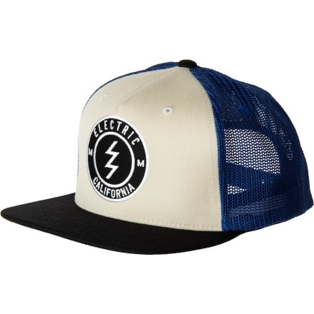 Electric Corporate Seal Trucker Hat