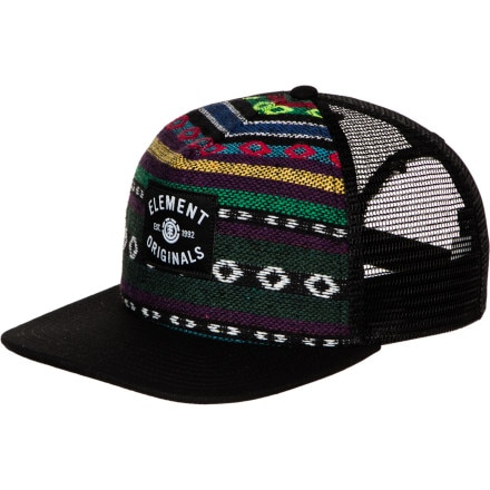 Element Ikat Trucker Hat