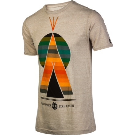 Element Happy Campers Slim T-Shirt - Short-Sleeve - Men's