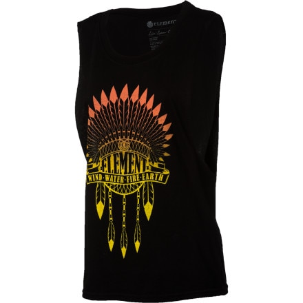 Element Headdress Muscle Tank Top - Women's