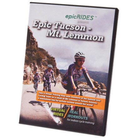 Epic Rides Virtual Ride DVD - Tucson Mt. Lemmon