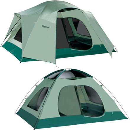 photo: Eureka! Tetragon 1210 three-season tent