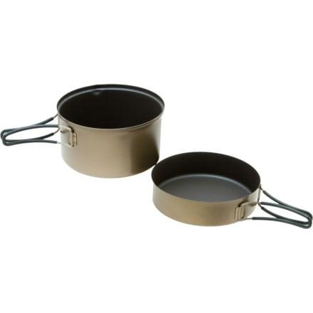 photo: Evernew Ti Non-Stick DX3 Pot Set pot/pan
