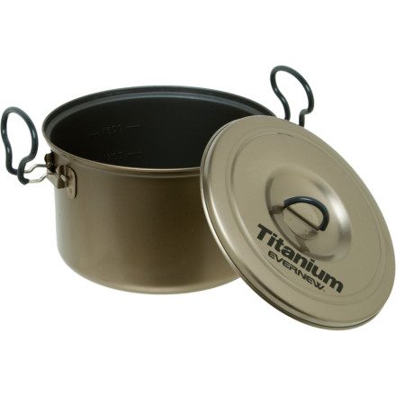 photo: Evernew Ti Non-Stick Pot 2.6L
