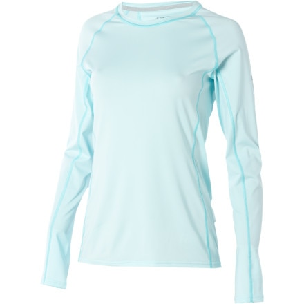 photo: ExOfficio Women's Sol Cool Crew Long Sleeve Shirt long sleeve performance top