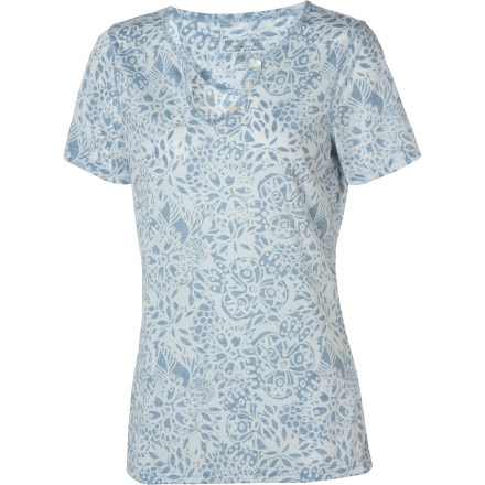 ExOfficio aZa Notch Neck Top - Short-Sleeve - Women's