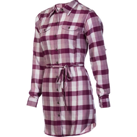 ExOfficio Pocatello Plaid Tunic - Long-Sleeve - Women's