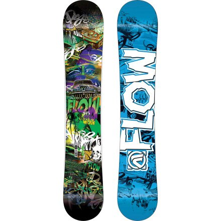 Flow Team Micron Snowboard - Kids'