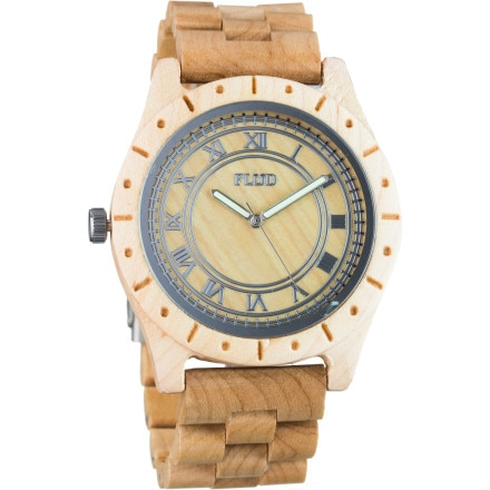 FLüD Big Ben Wood Watch - Men's