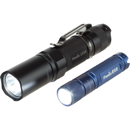 Fenix LD10 and E05 Flashlight Set