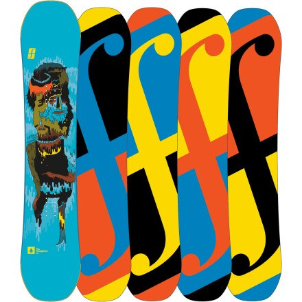 Forum YoungBlood Mini DoubleDog Snowboard - Kids'