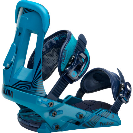 Forum Faction Snowboard Binding - Men's
