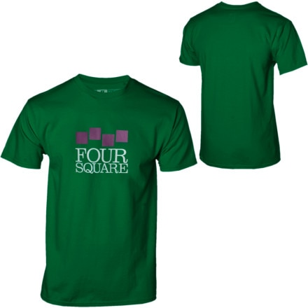 Foursquare Classic Stack T-Shirt - Short-Sleeve - Men's