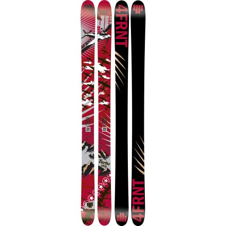 4FRNT Skis Turbo Ski