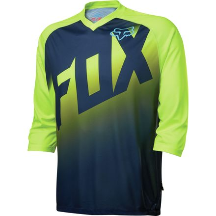 Fox Racing Flow Jersey - 3/4-Sleeve - Men's