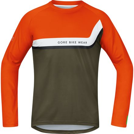 Gore Bike Wear Power Trail Long-Sleeve Jersey - Men's