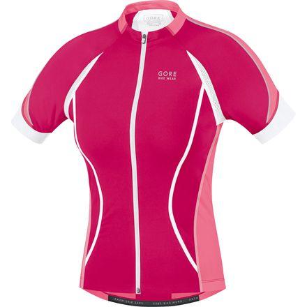 Gore Bike Wear Oxygen Full-Zip Jersey - Short Sleeve - Women's