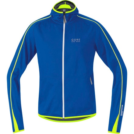 Gore Bike Wear Countdown WindStopper Soft Shell Hoodie - Men's