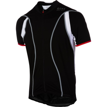 Gore Bike Wear Oxygen Full-Zip Reflex Short Sleeve Jersey