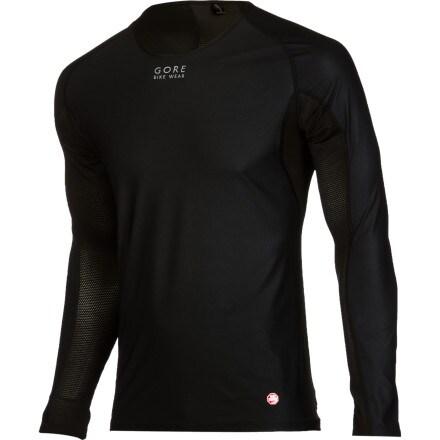 Gore Bike Wear Base Layer Windstopper Shirt - Long-Sleeve