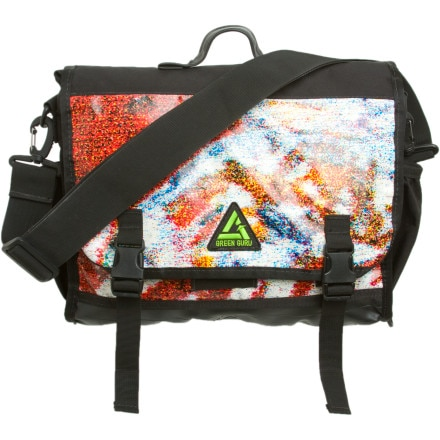 Green Guru Gear Billa Billboard Messenger Bag - 672cu in