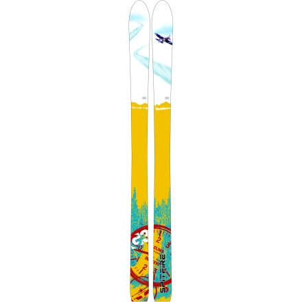 photo: G3 Spitfire alpine touring/telemark ski