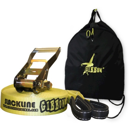 Gibbon Slacklines Classic Line Kit with Padded Cinch